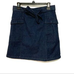 Westport 1962 Jean skirt tie belt small